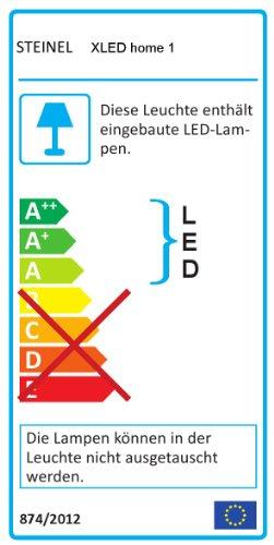Steinel Sensor LED-Strahler XLED Home 1 weiß, LED-Scheinwerfer mit 140° Bewegungsmelder und max. 14 m Reichweite, 920 Lumen Helligkeit ,Lichtfarbe 6700 K Kalt-weiß, 002695 - 5