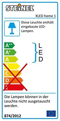 Steinel Sensor LED-Strahler XLED Home 1 weiß - NEU mit neutralweißer Lichtfarbe 4000 K, LED-Scheinwerfer mit 140° Bewegungsmelder und max. 14 m Reichweite, Fluter mit 14,8 Watt und 1020 Lumen, 029654 - 2