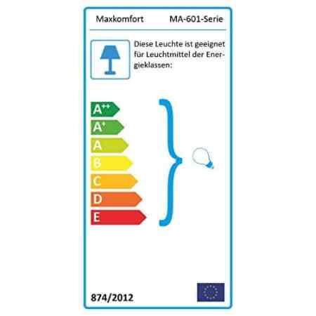Aussenleuchte Aussenlampe Wandlampe Wandleuchte Edelstahl 601 mit Bewegungsmelder 601A1 -