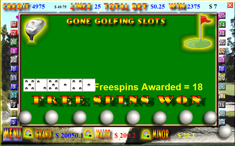 pokie fun Bonus screenshot