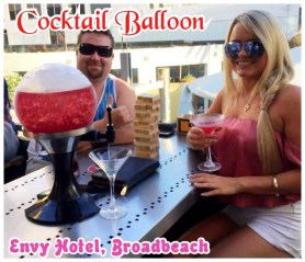 Cocktail Balloons