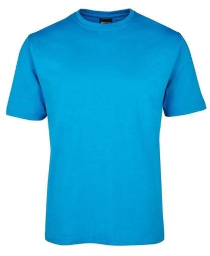 Round Neck T Shirts - Aqua