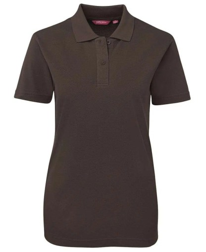 Ladies Polo - Chocolate