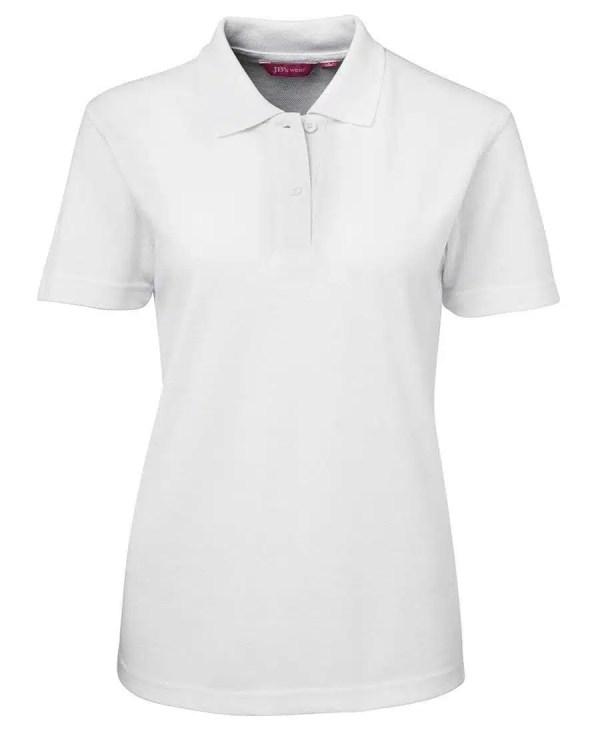 Ladies Polo - White