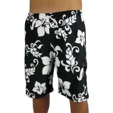Big Island Shorts Black/White