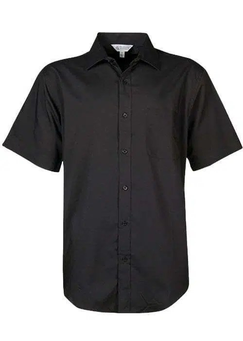 Kingswood Short Sleeve to 7XL black