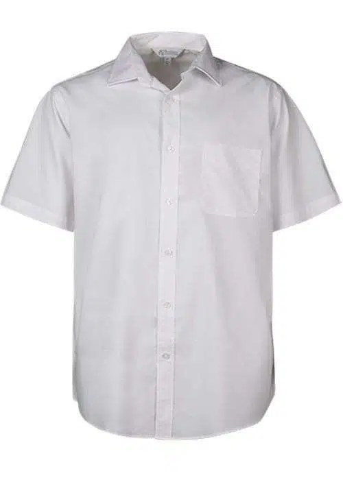 Kingswood Short Sleeve to 7XL white