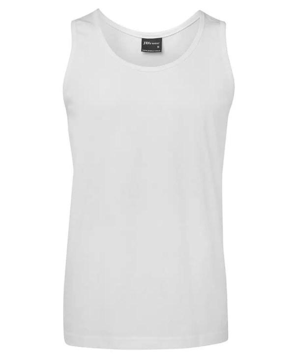 Plain Singlet - White