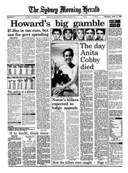 Newspaper page, 'The day Anita Cobby died
