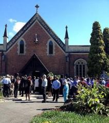 Allison Baden-Clay's funeral-420x0
