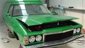 The 1975 HJ Holden Sandman panel van at the centre of the mystery