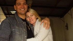 Joe Korp with Tania Herman.