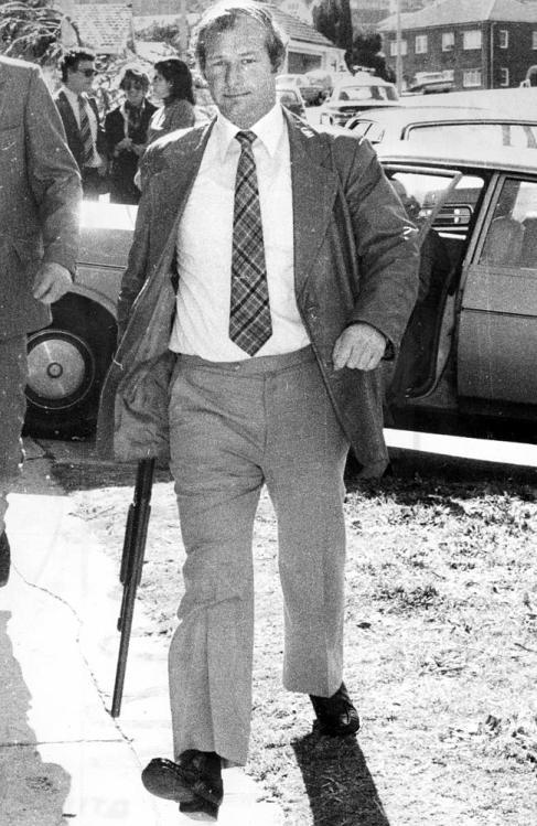 Det-Sgt Roger Rogerson in Sydney in 1981.