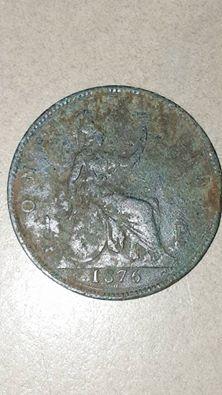 1876 penny