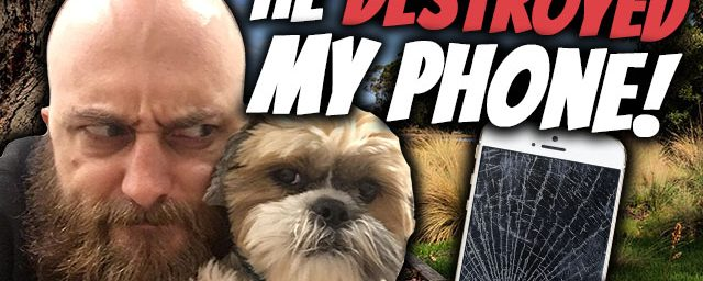 AE 435 – Vlog: He Destroyed My Phone!