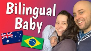 raising a bilingual baby, aussie english, australian english