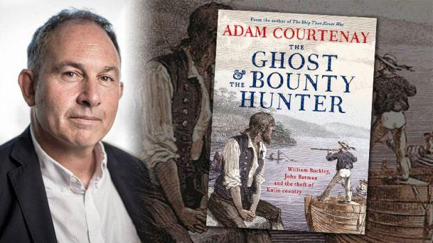 adam courtenay, the ghost and the bounty hunter, adam courtenay interview, william buckley, john batman