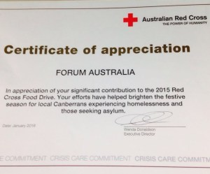 Red cross appreciates forum australia efforts forum australia red cross appreciates forum australia efforts yadclub Image collections