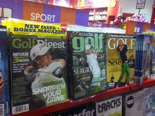 Australian Golf magazines