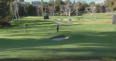 GOLF ARCHITECTURE / That bunker in the middle of the green at Riviera's famous par-3 6th