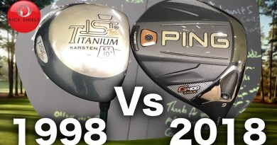 Golf Technology: Testing a 1998 Driver against a 2018 Driver