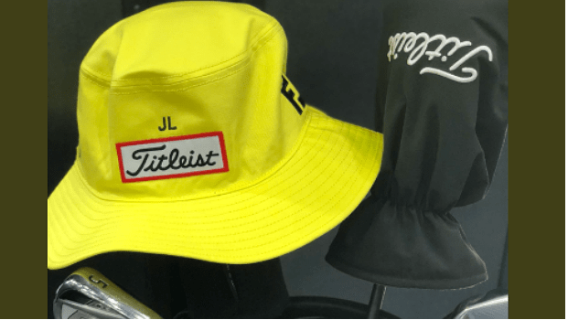5bc21cc75b6 Titleist donate yellow bucket hats to purchase through challenge png  621x350 Titleist club hats