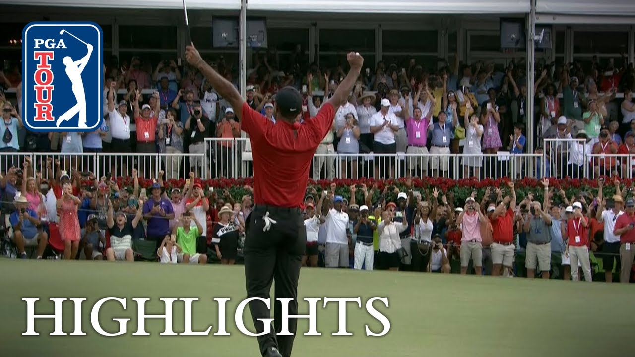 tiger woods wins 80th pga tour title  claims tour