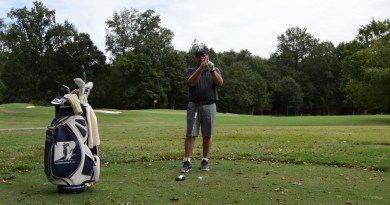 GOLF SWING TIP / Why you shouldn't try to hit up on the ball