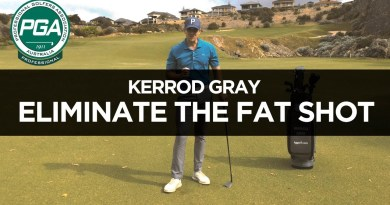 GOLF TIP / Take the fat shot out of your game
