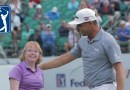 VIRAL VIDEO: Amy takes centre stage at Phoenix Open