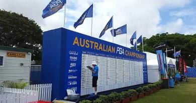 Australia's major golf tournaments pushed back