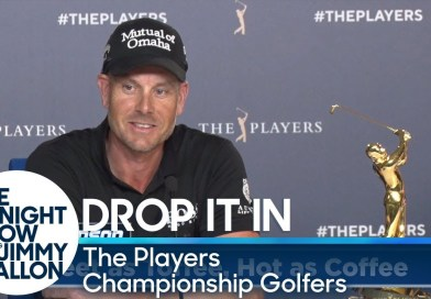 Jimmy Fallon dared golfers to say crazy things in their interviews