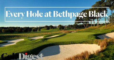 Hole-by-hole video review of Bethpage Black