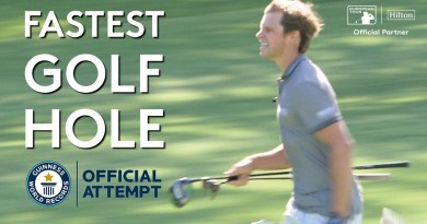 Watch Euro Tour players try to break record for Fastest Hole of Golf