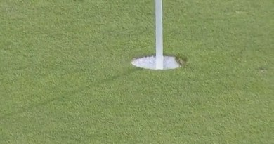 Watch this pro golfer agonizingly miss a hole-in-one to win a BMW