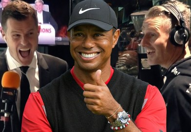 Tiger Woods drops the F-bomb on Melbourne radio