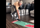 James Nitties rolls in a bunch of hilarious putts in quarantine video