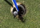 Golfer destroys golf hole with a groundbreaking hole-in-one