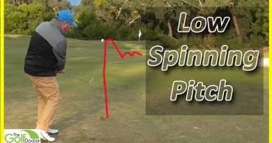 The Golf Doctor shows you how to play a low spinning wedge shot