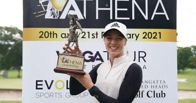 WPGA Kristalle Blum takes home inaugural Athena Trophy