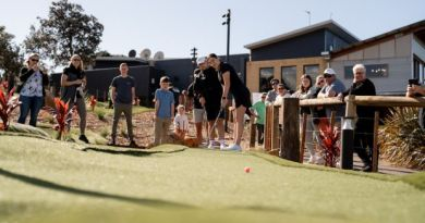 Australia's newest mini golf course opens at Links Shell Cove