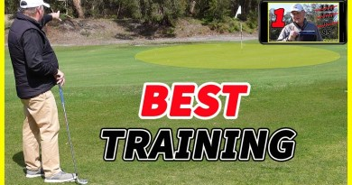 Spring golf training session (and swooping magpies) with The Golf Doctor