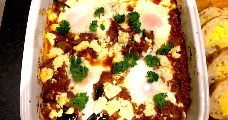 Shakshuka – Yes you can have eggs for dinner!
