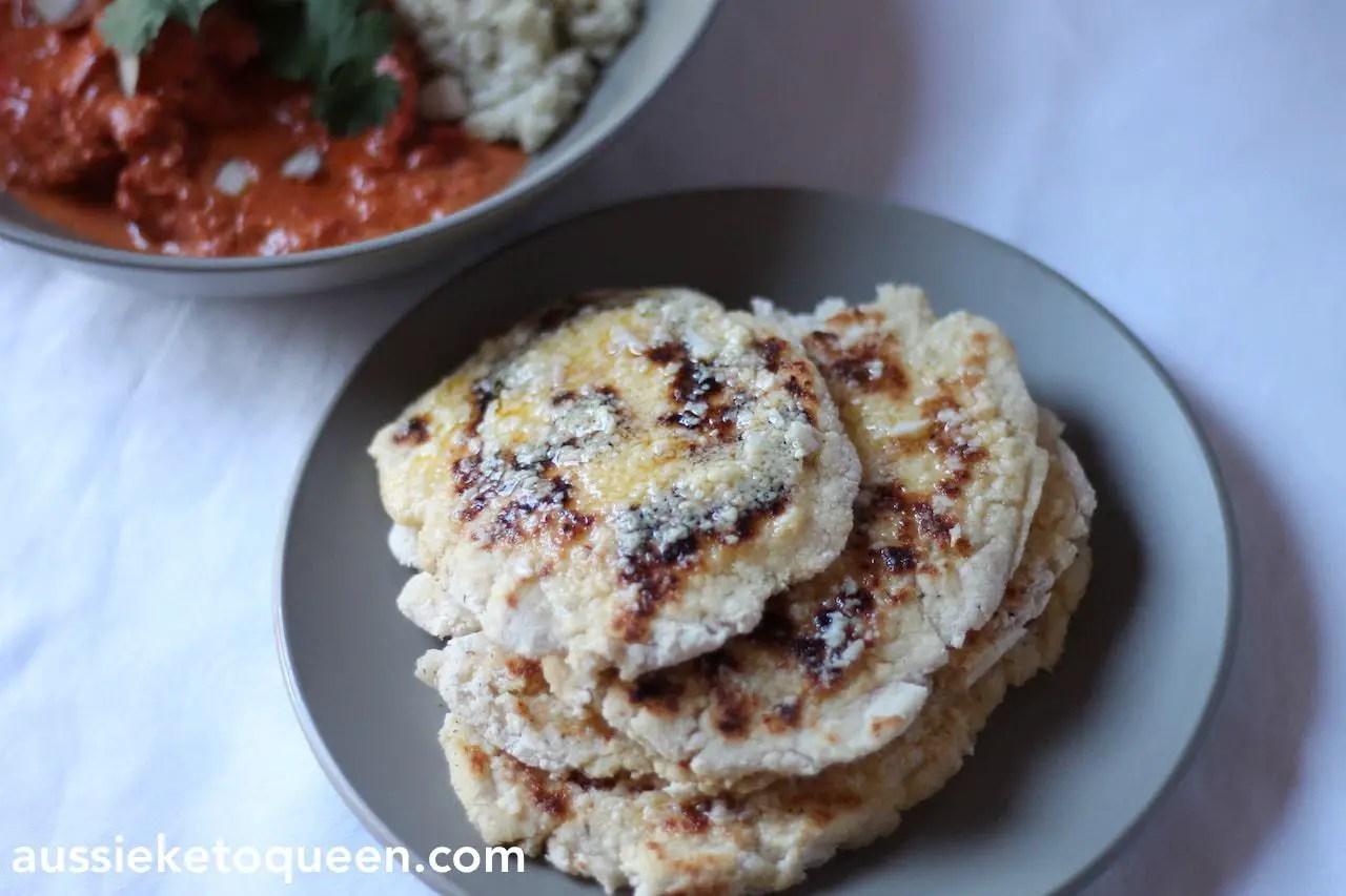 Keto Naan Bread – The Perfect Keto Curry Companion