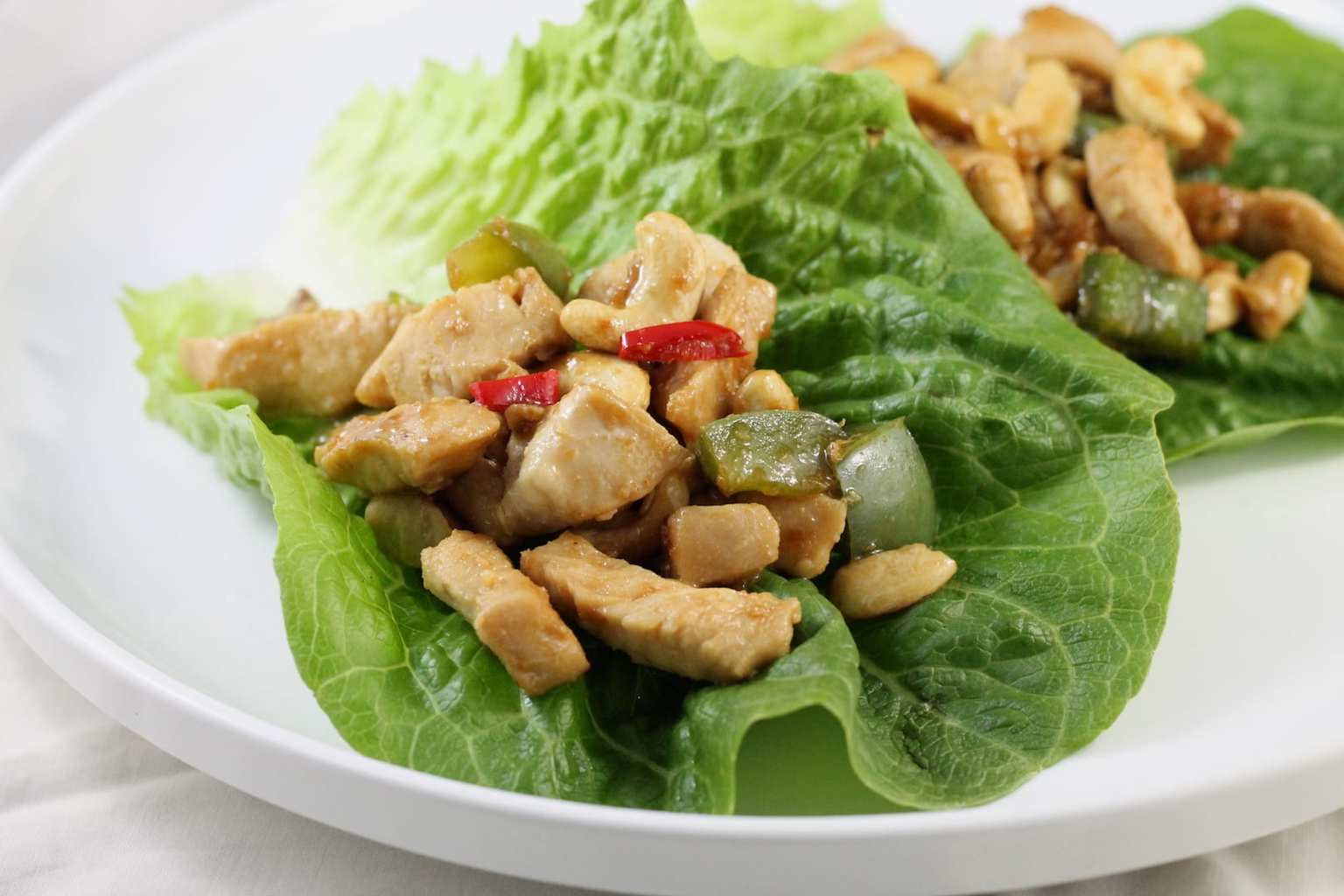 Keto Cashew Chicken Stir Fry