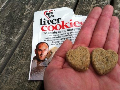 Love Em Pet Treats - Product Review - Liver Cookies