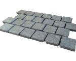 Aussietecture Black cobblestone flooring, granite square pavers