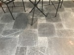 Aussietecture Bindoon cobble stone flooring, Limestone square pavers