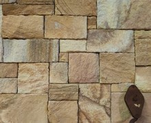 Aussietecture Colonial Ranch walling stone, Sydney sandstone, rectangular and square shape