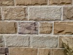 Aussietecture Ranch Rock face wall cladding stone, Sydney sandstone, rockface
